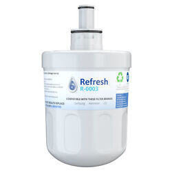 Refresh Replacement Water Filter - Fits Samsung Wf-289 Refrigerators