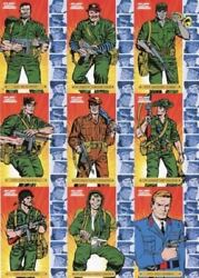 Sgt. Fury And His Howling Commandos 50th Ann. Character Chase Card Set 9 Cards
