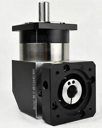 Right Angle Planetary Gearbox 151 To 1001 For 130mm Ac Servo Motor Input 24mm