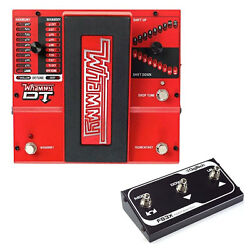 DigiTech Whammydtv-01 DT Drop Tune Guitar Effect Pedal w 3 Function Foot Switch