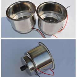 2andtimes 8led Stainless Steel Cup Drink Holder Light For Car Auto Marine Boat Rv Truck