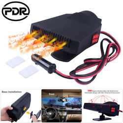 Car Vehicle Ceramic Heating Heater Hot Fan Defroster Demister Outdoor DC12V 200W
