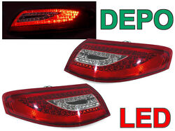 Depo Facelift Look Led Tail Rear Light Pair For 1998-04 Porsche 911 996 Carrera