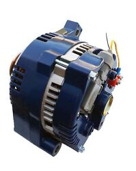 Alternator For Ford Mustang One Wire Blue 1-wire High Output 250 Amps 1965-1996