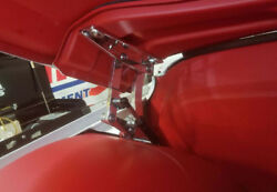 And03967-and03972 C10 Billet Hood Hinges For Lowered Trucks - Polished