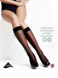 Charnos Medium Comfort and Support Massage Sole Compression Knee Highs $12.95