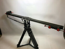 Floatcam Dolly crane with motion control. Flight cased