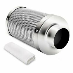 IPower 4 Inch Air Carbon Filter Odor Control Scrubber With Australia Virgin For