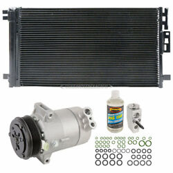 New AC Compressor & Clutch With Complete AC Repair Kit Fits Chevy & Saturn