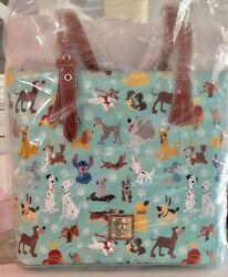 NWT Disney Dooney and Bourke Dogs Tote Shopper Purse Bag Factory Sealed!