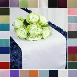 50 Wholesale Lot Polyester 12x108 Table Runners Wedding Party Linens On Sale