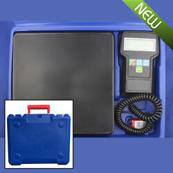 220lbs Electronic Refrigerant Charging Digital Weight Scale wCase for HVAC Sale