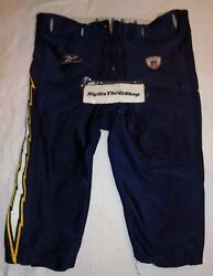 2003 Authentic Nfl Reebok San Diego Chargers Game Used Football Pants Size 46