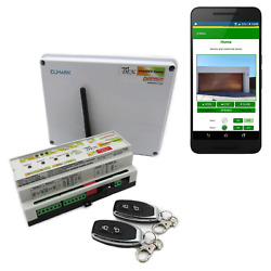 Wi-fi Smart Awning Relay Controller With Android App Rf Remotes And Sensors I/o