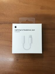 Genuine Oem Apple Lightning To Headphone Jack Aux Adapter For Iphone 7 8 X 11 12