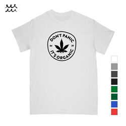 ORGANIC WEED DESIGNED T SHIRT GRAPHIC SHIRTS CANNABIS PRINTED TEE FUNNY GIFT