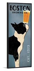 Boston Terrier Brewing Co Panel Edge Frame