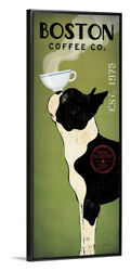 Boston Terrier Coffee Co Edge Frame