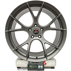 Project 6gr Ten 20x10 Satin Graphite Concave Wheels For S550 Mustang Gt Pp Eco