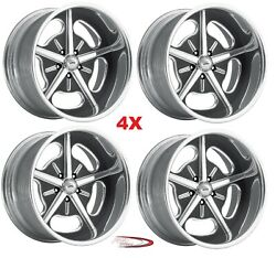 18 Hot Rod Pro Wheels Rims Billet Forged Line Mags