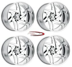 18 Pro Billet Wheels Rims Forged Aluminum Six 6 Line Specialties Mags