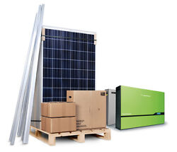 4kw 4000w Solar Panel Pv Kit System For House Self Install Diy France / Greece