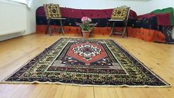 Beautiful Natural Dyes Antique Wool Pile Tribal Taspinar Rug 4andrsquo3andrdquox 7andrsquo9andrdquo