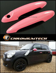 Mini Cooper/s/one R50 R52 R53 R55 R56 R57 R58 R59 R61 Pink Door Handle Covers