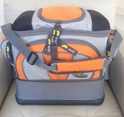 Plano Guide Series Angler Fishing Lures Tackle Bag W/ 4-3700 Storage Boxes