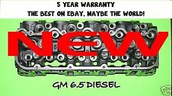 1 New Gm/chevy 6.5 Diesel90anddeg Angle Cylinder Head 567 92-2000 No Core
