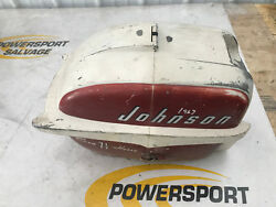 57 58 59 60 Omc Johnson Evinrude 5 7.5 Hood Upper Cowling Top Engine Cover