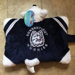 New Official Ncaa Uconn Ct Huskies My Pillow Pet Discontinued