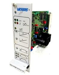Used Vickers Eea-pam-513-a-12 Amplifier Card Eeapam513a12