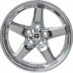 4 GWG Wheels 18 inch Chrome Drift Rims fits CHEVY IMPALA 2000 - 2013