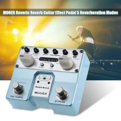 MOOER Reverie Reverb Guitar Effect Pedal 5 Reverberation Mode w Footswitch J6S3