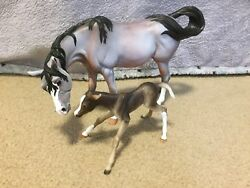 Breyer Sucesion And Le Fire Color Crazy Custom CM Set