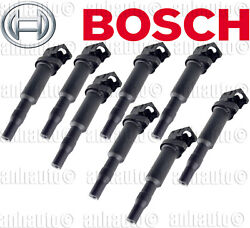 Set Of 8 Ignition Coil Bosch 12137594937 Bmw Oe Version New