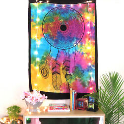 Poster Wall Tapestry Indian Hanging Cotton Dream Catcher Multicolor Handmade Art