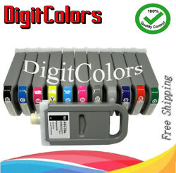 Any 5 Of 12 Pfi-706 Ink Cartridge Fit Canon Ipf 8400 8400s 9400 9400s-
