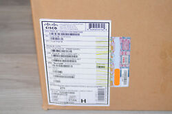 Brand New Cisco Ws-c3850-48t-l 48-port 10/100/1000lan Base Stackable Switch