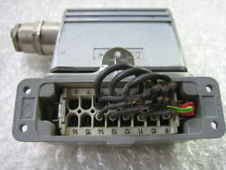 HARTING H-A16T Power Control Plug and Socket as photo dφm re photo