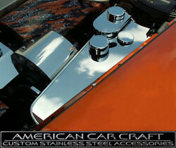 2005-13 Corvette C6 And Gs Automatic Polished Water Tank Cover Caps Are Included