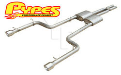2006-2010 Charger R/t And Se V8 5.7l Cat-back 2.5 Exhaust W/ Street Pro Mufflers