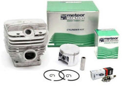 Meteor Cylinder Piston Kit For Stihl Ms660, 066 54mm Made In Italy Nikasil