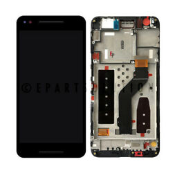 Google Huawei Nexus 6p H1511 H1512 Lcd Touch Screen Digitizer + Frame Assembly