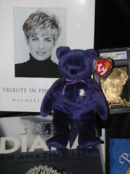 Ty Beanie Baby Princess And Lot Of Diana Princess Of Wales 1997 P.e. Pellets