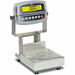 Detecto Ca8-15kgw-190 1admiral Washdown Bench Scale With 190 Indicator