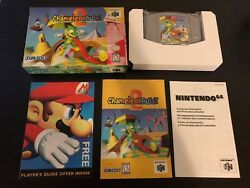 Chameleon Twist 2 (Nintendo 64) *COMPLETE - AUTHENTIC - Excellent Condition