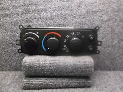 2001 2002 2003 2004 Dodge Ram 1500 AC Heat Switch Climate Control Unit