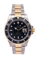 Rolex Submariner Two Tone 18KT Yellow Gold/Stainless Steel – 16613
